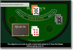 how to play blackjack video